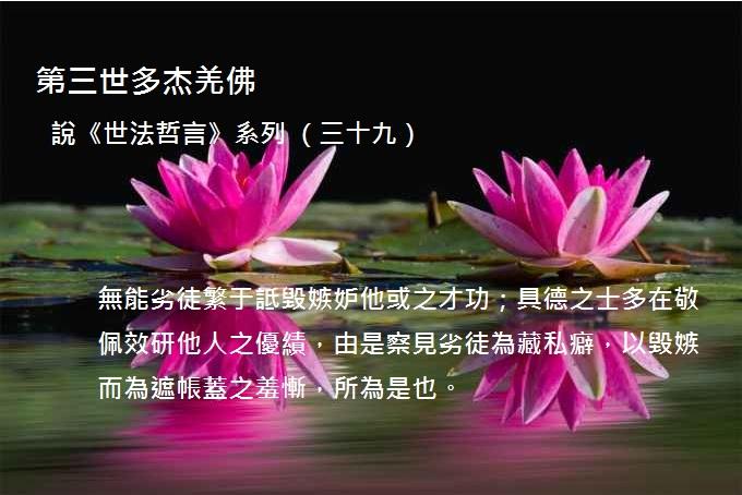 第三世多杰羌佛說《世法哲言》系列(三十九).jpg
