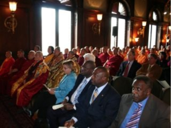 多杰羌佛第三世降世 佛教有了「教皇」-外交使節