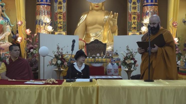 對H.H. 第三世多杰羌佛 的世界佛教教皇冊封
